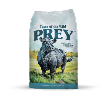 Taste of the Wild PREY Angus Beef Formula for Dogs
