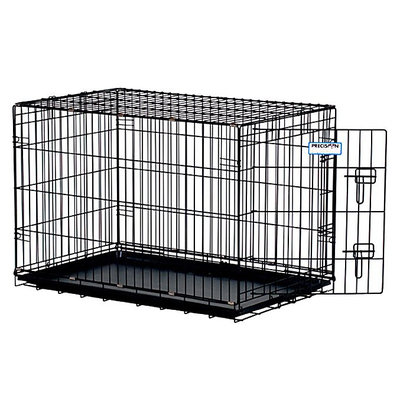 Precision Pet ProValu Dog Crate 42x28x31 Black