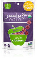 Peeled Snacks Organic Apple Clusters Berry Crunch
