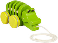 Plan Toys Dancing Alligator Eco-friendly Pull-Along Toy