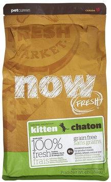 Now Fresh Grain Free Kitten Recipe