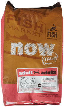 Now Fresh Grain Free Fish Adult Recipe Dog Food - 25lb