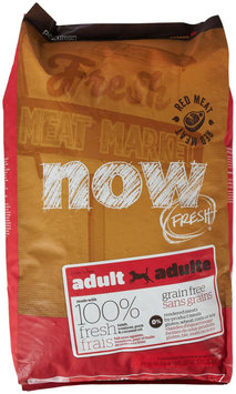 Now Fresh Grain Free Red Meat Adult Recipe Dog Food - 25lb