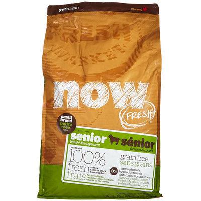 Now Fresh Grain Free Small Breed Senior Recipe - 12lb