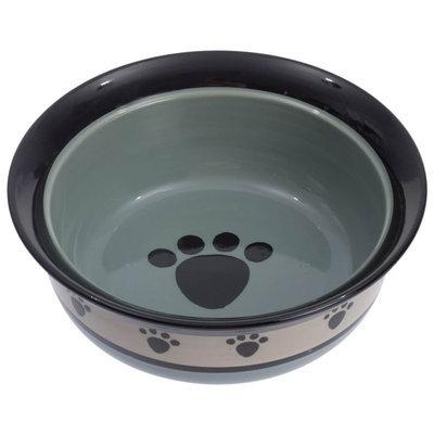 Metro Deep Stoneware Pet Bowl 16 oz