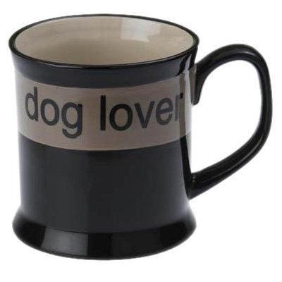 Petrageous Designs City Pets Dog Lover Mug - Black & Cream - 20 oz