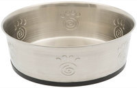 Petrageous Designs Cayman Classic Pet Bowl - Stainless Steel - 3 quart