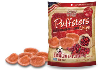 Puffsters® Cranberry & Chicken Snack Treats
