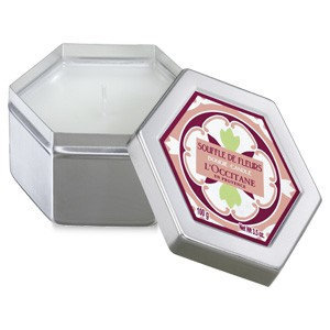 L'occitane En Provence White Blossoms Scented Candle 100 g
