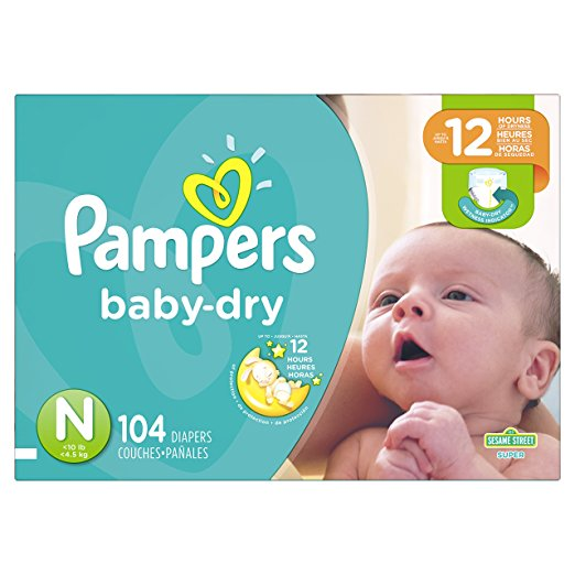 Pampers® Baby Dry™ Diapers Size 0