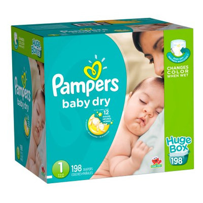 Pampers® Baby Dry™ Diapers Size 198