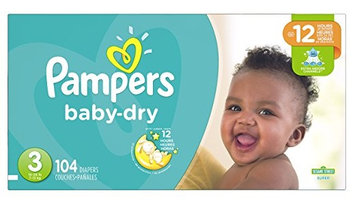 Pampers® Baby Dry™ Diapers Size 3