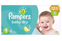 Pampers® Baby Dry™ Diapers Size 4