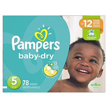 Pampers® Baby Dry™ Diapers Size 5