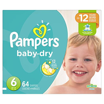 Pampers® Baby Dry™ Diapers Size 6