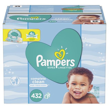 Pampers® Complete Clean™ Baby Fresh Wipes