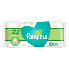 Pampers® Complete Clean™ Unscented Wipes