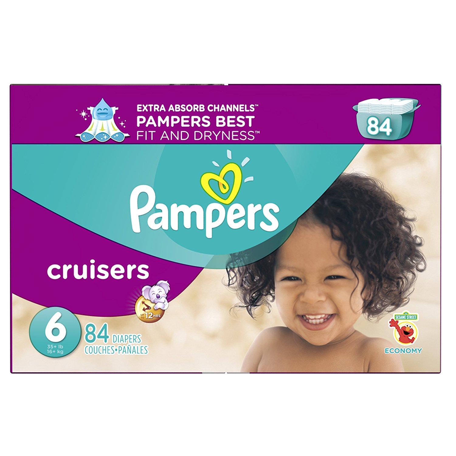 Pampers® Cruisers™ Diapers Size 6
