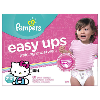 Pampers® Easy Ups™ Training Underwear Girls Size 4 (2T-3T)