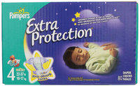 Pampers® Extra Protection Diapers Size 4