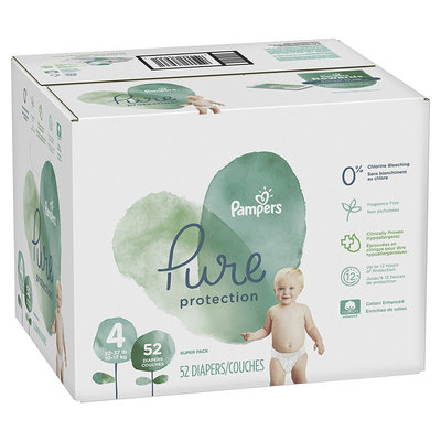Pampers® Pure Protection Size 4 Diapers