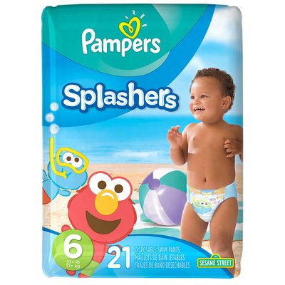 Pampers® Splashers™ Baby Swim Pants Size 6