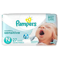Pampers® Swaddlers™ Sensitive Diapers Size 0