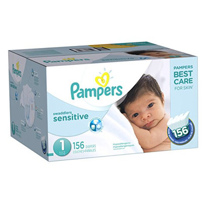 Pampers® Swaddlers™ Sensitive Diapers Size 1