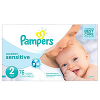 Pampers® Swaddlers™ Sensitive Diapers Size 2