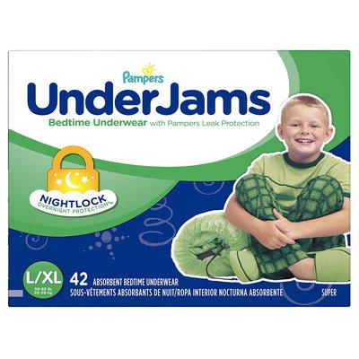 Pampers® UnderJams™ Diapers Bedtime Underwear Boys Size L/ XL