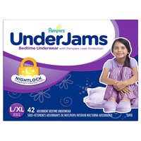 Pampers® UnderJams™ Diapers Bedtime Underwear Girls Size L/ XL