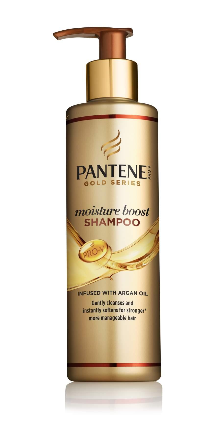 Pantene Pro-V Gold Series Moisture Boost Shampoo