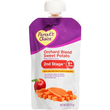 Parent's Choice Orchard Blend Sweet Potato Baby Food Puree