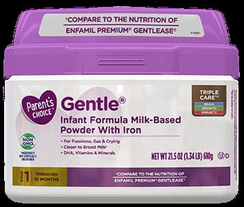 Parent's Choice™ Gentle® Baby Formula