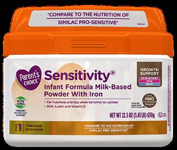 Parent's Choice™ Sensitivity® Infant Formula