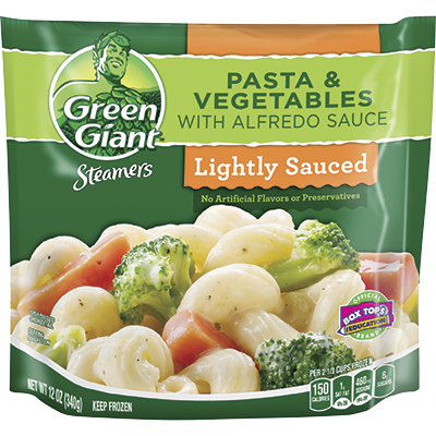 Green Giant® Steamers Pasta & Vegetables With Alfredo Sauce