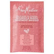 SheaMoisture Peace Rose Oil Complex Nourish & Silken Treatment Masque