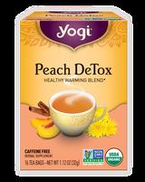 Yogi Teas Herbal Tea Peach Detox