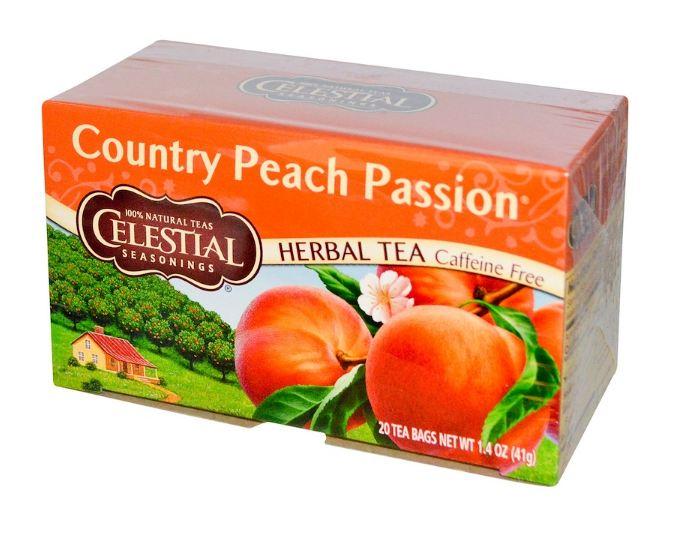 Celestial Seasonings® Country Peach Passion Herbal Tea Caffeine Free