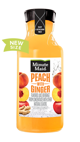 Minute Maid® Peach with Ginger