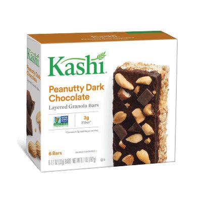 Kashi® Layered Granola Bars Peanutty Dark Chocolate