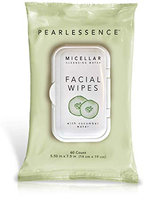 Pearlessence Micellar Cleansing Facial Wipes with Cucumber Water
