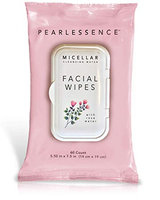 Pearlessence Micellar Cleansing Facial Wipes with Rose Water