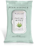 Pearlessence Micellar Cleansing Facial Wipes with Soothing Aloe