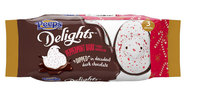 Peeps Christmas Chick Peppermint Bark Dipped in White Fudge