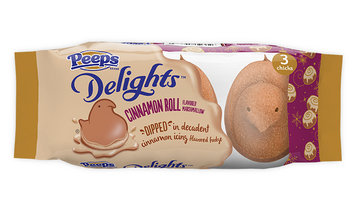 Peeps Cinnamon Roll Dipped Delights