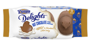 Peeps Hot Chocolate Dipped Delights