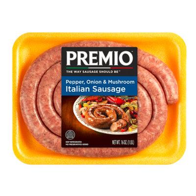Premio Pepper, Onion & Mushroom Italian Sausage