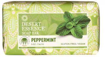 Desert Essence Peppermint Soap Bar