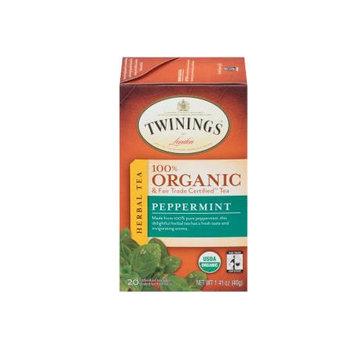 TWININGS® OF London Peppermint Organic Tea Bags